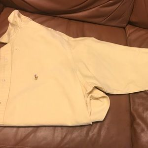 Men's Large Polo Yarmouth Button Up